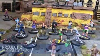 Unboxing Project Z by Warlord Games
