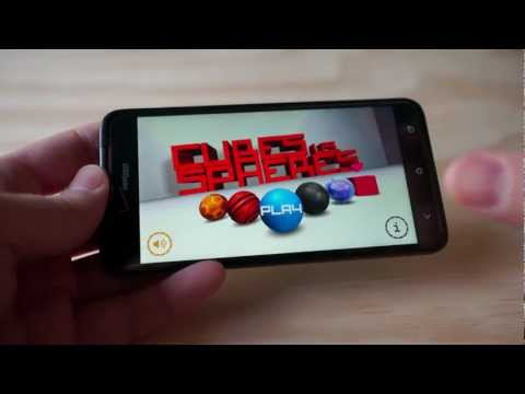 cubes vs spheres android ???????