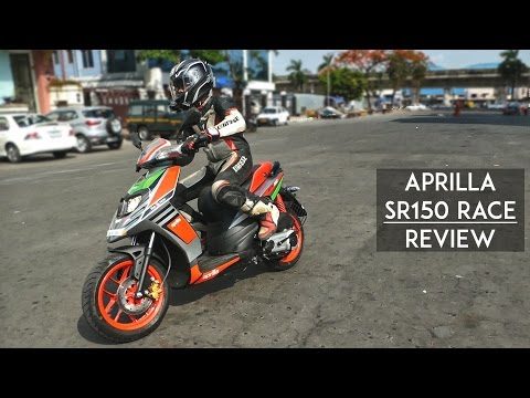 2017 Aprillia SR 150 Race Review | Fastest Scooter in India? | RWR