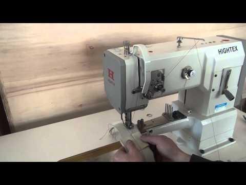 Maquina de coser cuero triple arrastre brazo libre para zapatos, chaquetas, bolsos Pfaff 335