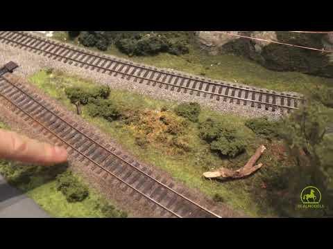 Visitiamo un plastico ferroviario in scala H0