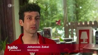 Kameramann für ZDF Hallo Deutschland vom 6. April 2018