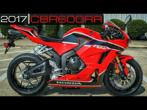 2017 Honda CBR600RR Review of Specs / Walk-Around | CBR 600 RR SuperSport Bike / Motorcycle