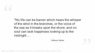 William Winter Quotes