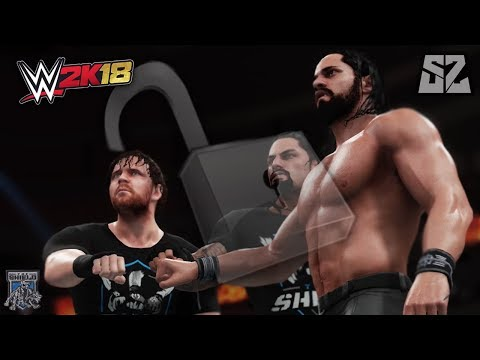 HOW TO UNLOCK & REUNITE THE SHIELD IN WWE 2K18!