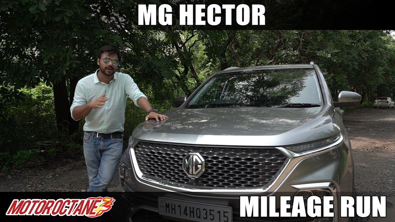 Motoroctane Youtube Video - MG Hector Diesel City Mileage | Hindi | MotorOctane
