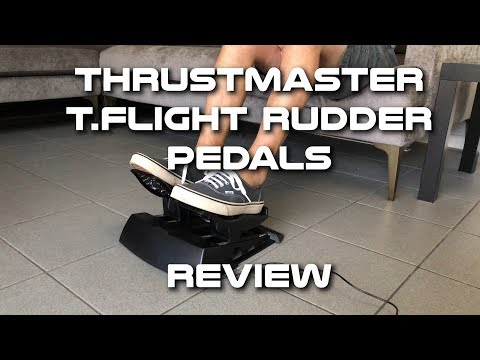 Thrustmaster TFlight Rudder Pedals Review - смотреть онлайн на Hah Life