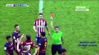 BARCELONA - ATLITICO MADRID 2:1 30.01.2016 БАРСЕЛОНА - АТЛЕТИКО обзор матча (HD)