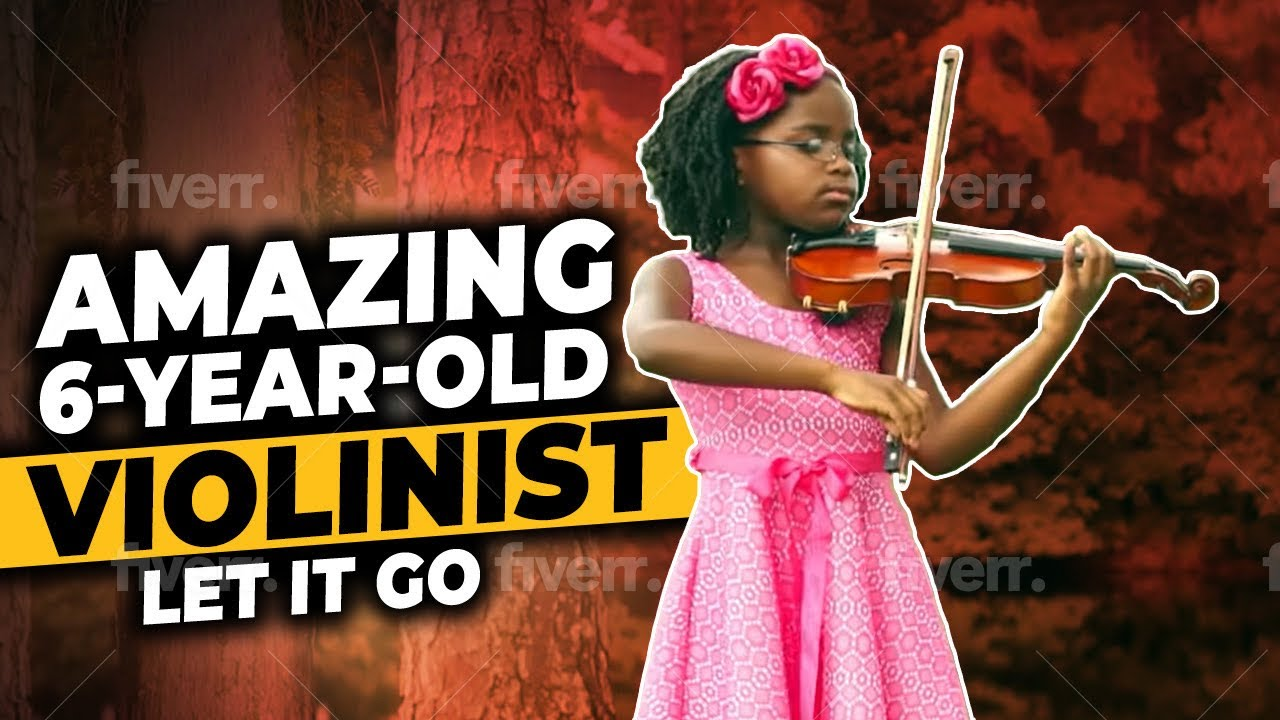 Amazing 6-Year-Old Violinist Plays