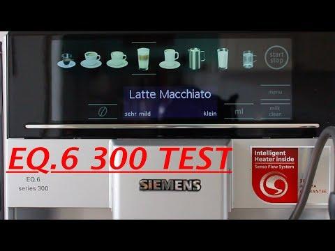 Siemens EQ . 6 300 - Kaffeevollautomat im Test