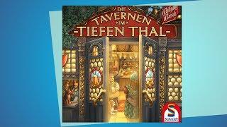 Die Tavernen im tiefen Thal // Brettspiel - Erklärvideo
