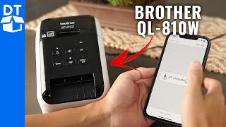 Brother QL-810W Label Printer Review & Demo