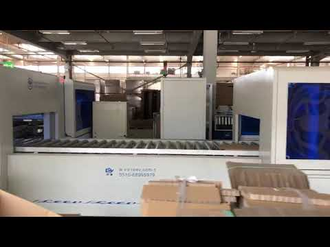 LEEV packgaging line