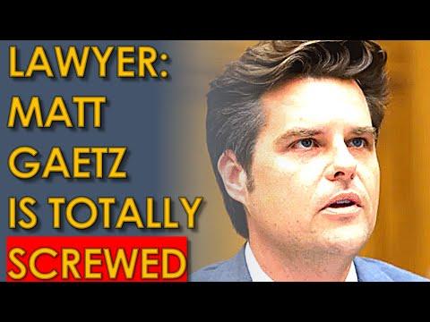 Matt Gaetz is SCREWED according to Joel Greenberg's Lawyer who took PLEA DEAL against Gaetz