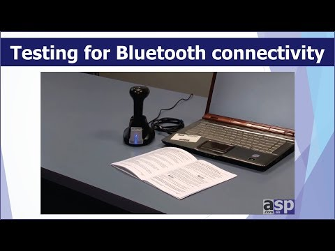 Testing for Bluetooth connectivity