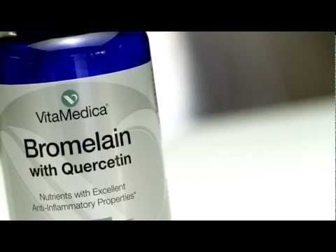 Video VitaMedica Bromelain & Quercetin -- A Natural Anti-Inflammatory Combination