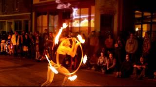 Karma Jane Fire Hoops
