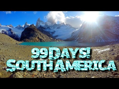 Video 99 Days South America 2016! ♥︎ || Galapagos Island to South Tip of Argentina!