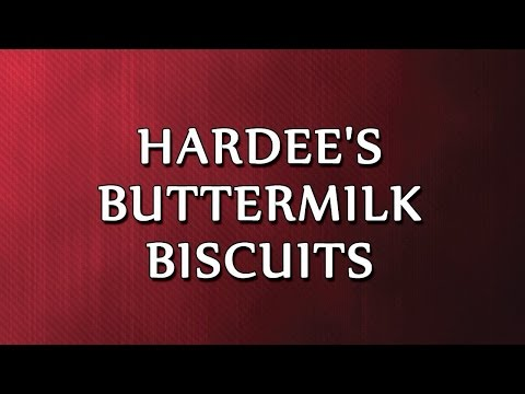 Hardee's Buttermilk Biscuits | RECIPES | EASY TO LEARN