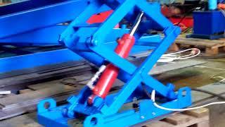 Подъемный стол Energopole гидравлический груз-сть до 5 тн высота подъема до 8 метров . от компании Ивановский Александр - видео