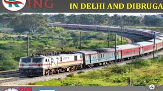 Hire Very Low-Cost Train Ambulance Service in Delhi and Dibrugarh by King