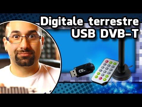 Unboxing Penna usb digitale terrestre, USB DVB T