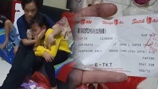 Video Bocah Menangis Angpau Rp4 Juta Hilang di Bagasi: Capek-capek Kumpulin, Lion Air Beri Tanggapan