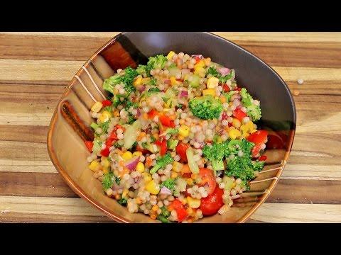 Couscous Salad Recipe – cooking channel – vegan plant based diet
