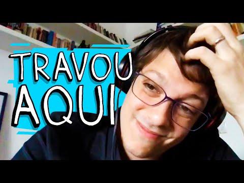 TRABALHANDO EM CASA - TRAVOU AQUI