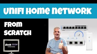 How To Setup A Basic Unifi Home Network From Scratch