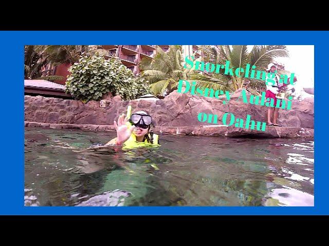 FoodMania Review: Disney's Aulani Resort - Rainbow Reef Snorkeling!