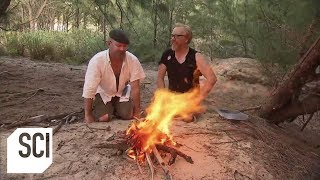 How to Create a Fire Using Duct Tape   MythBusters