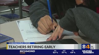 Teachers retiring early