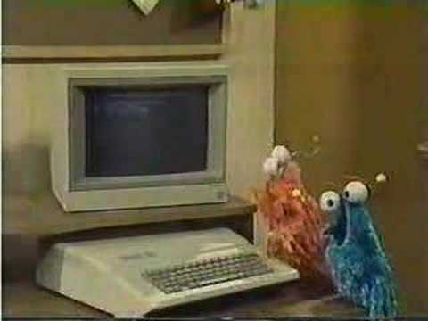 Classic Sesame Street - Computer trouble