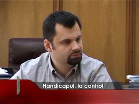 Handicapul la control