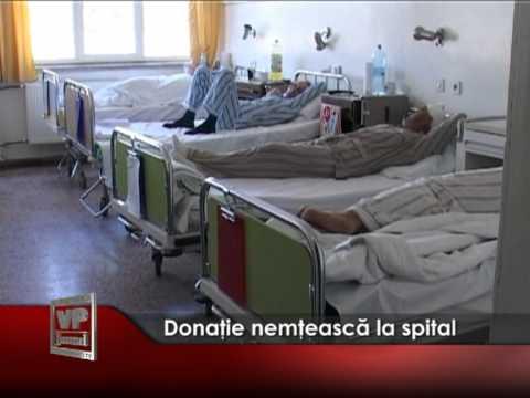 Donaţie nemţească la spital