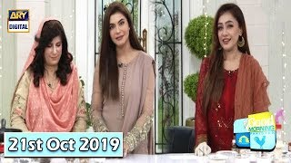 Good Morning Pakistan - Chef Farah & Dr Umme Raheel - 21st October 2019 - ARY Digital Show