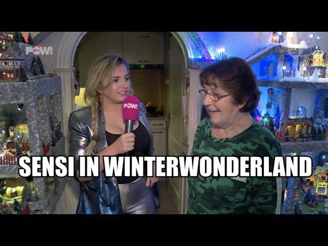 Sensi in winterwonderland