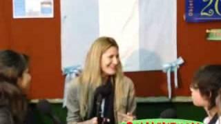 preview picture of video 'Entrevista a Carolina Saubidet'