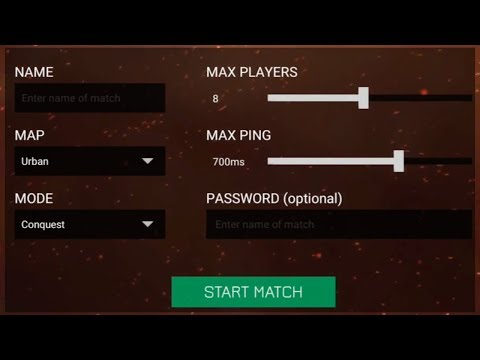 How To Create and Customize Matches Tutorial