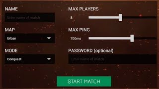 How to Create and Customize Matches