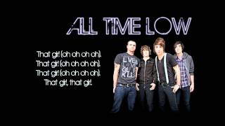 All Time Low That Girl Lyrics