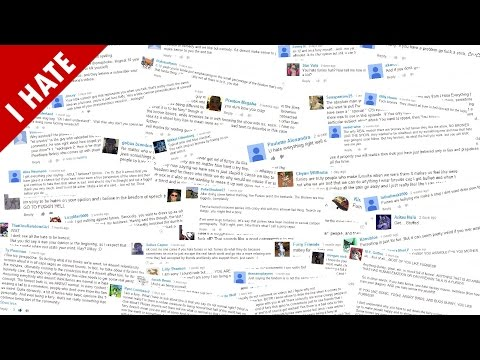 I HATE YOUTUBE COMMENTS (видео)