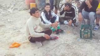 مقطع نادر للشهيد البطل محمد ابو صخر في الفلوجه
