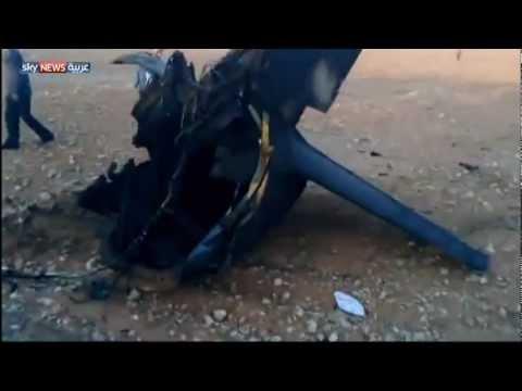 الجيش الحر يسقط طائرة ميغ بريف حلب