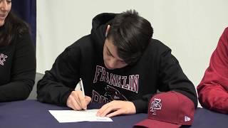 AMSA Varsity Soccer Player signs N.L.I. for Franklin Pierce University