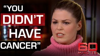 Confronting Belle Gibson - the health advocate who faked cancer | 60 Minutes Australia
