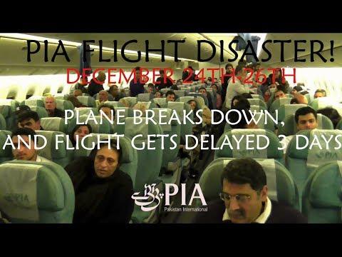 FLIGHT DISASTER!, PK758, PIA Pakistan International Airlines, London to Lahore, 24/12/13