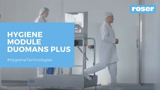 INTEGRATED HYGIENE STATION DUOMANS PLUS
