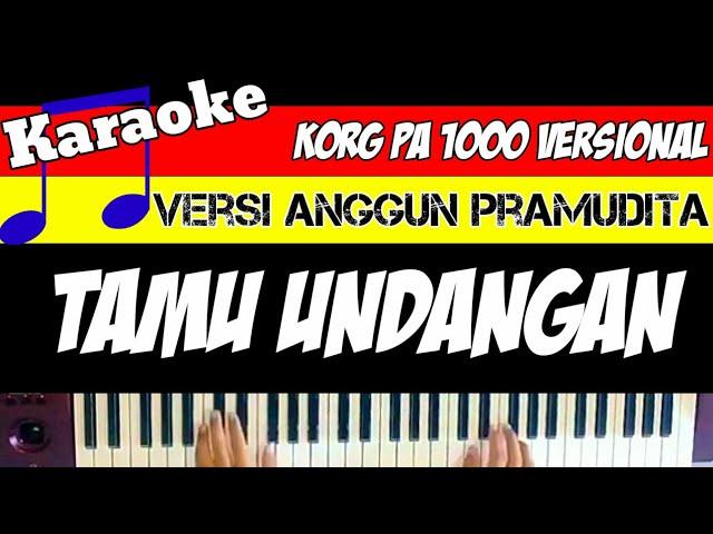 TAMU UNDANGAN - KARAOKE VERSI DANGDUT KOPLO OFFICIAL -( lirik lagu & musik)